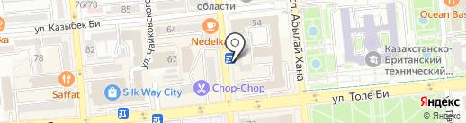 Департамент комитета труда, социальной защиты и миграции по Алматинской области на карте Алматы