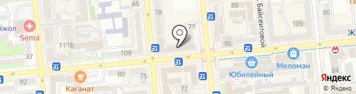 ZEST на карте Алматы