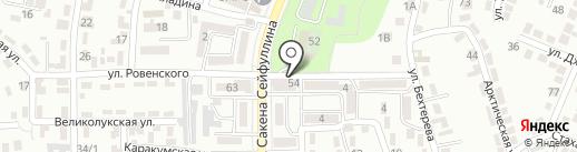 Inbet Loto на карте Алматы
