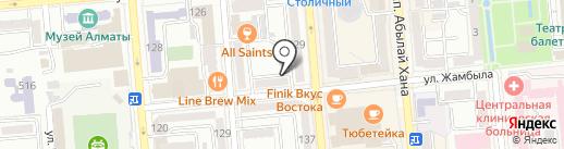 Atelier Aimer на карте Алматы