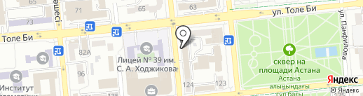 GigiNova на карте Алматы