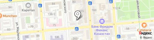 Жулдыз, ПКСК на карте Алматы