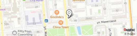 AppleSeed на карте Алматы
