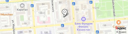 Ekaterina Sh на карте Алматы