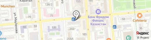 PRIME на карте Алматы