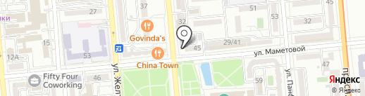 Brillioner на карте Алматы