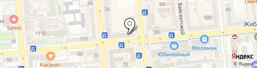 Ip Fashion на карте Алматы