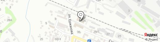 Облачный брокер на карте Алматы
