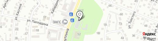 Аркада на карте Алматы