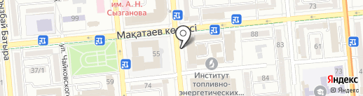 АБ-М на карте Алматы