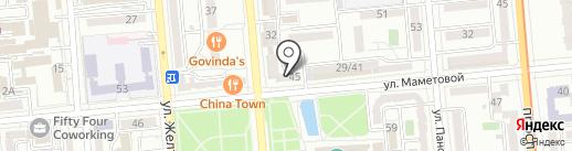 Прима-Дент на карте Алматы