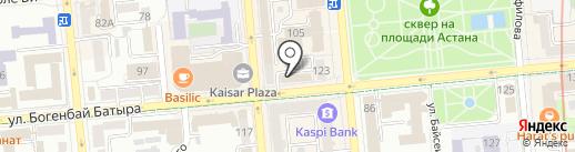 Messika на карте Алматы
