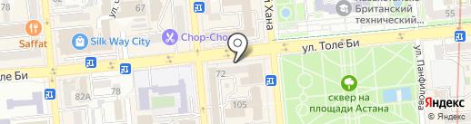 Simpos на карте Алматы