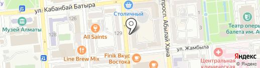 Alvero textile на карте Алматы