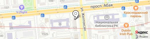 BT ACVILON на карте Алматы