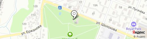 Escape club на карте Алматы