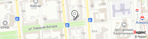 Odas на карте Алматы