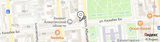 Академия минеральных ресурсов Республики Казахстан на карте Алматы