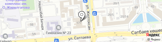 Classic, FM 102.8 на карте Алматы