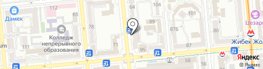 Carnelli на карте Алматы