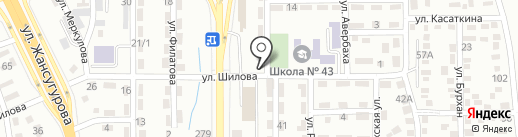 Автохолод на карте Алматы