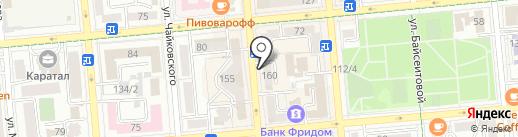 Мичурин на карте Алматы