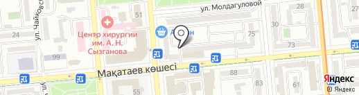 Бюро Nahodok на карте Алматы