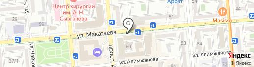 Департамент юстиции г. Алматы на карте Алматы