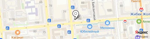 NomadPress на карте Алматы