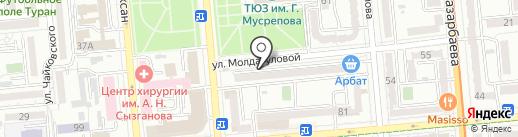 S & I Fitness на карте Алматы