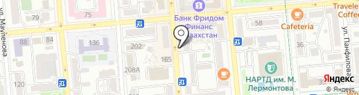 От Фермера на карте Алматы