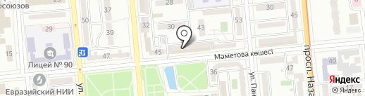 Штальман на карте Алматы