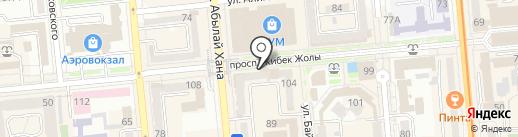 Asar Service на карте Алматы