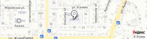 Многопрофильная школа-гимназия искусств №83 на карте Алматы