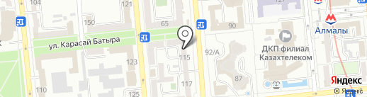 Sharrua на карте Алматы