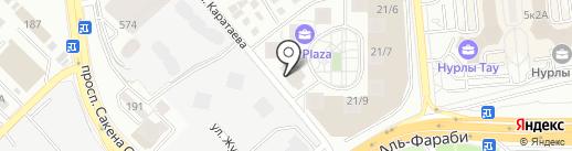 Dushes на карте Алматы