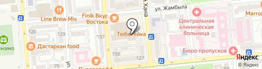 Center Premium на карте Алматы