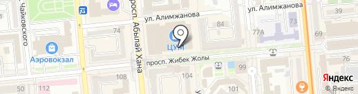 K-mobile на карте Алматы