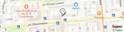 Моби 103 на карте Алматы
