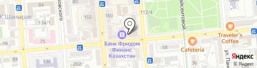Homeflat на карте Алматы