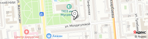 Внешпромимпорт на карте Алматы