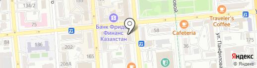 Uncle Sam на карте Алматы