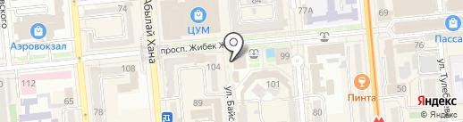 Банкомат, Bank RBK на карте Алматы