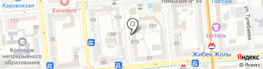 Malinelli на карте Алматы