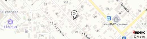 Magic Baby на карте Алматы