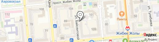 Mona Lisa на карте Алматы