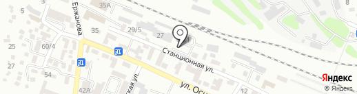 Военизированная железнодорожная охрана на карте Алматы