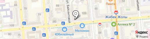 Перспектива, ТОО на карте Алматы