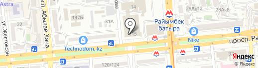 Alem Technologies на карте Алматы