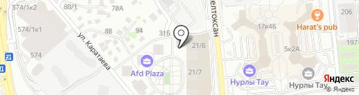 PSS Group, ТОО на карте Алматы